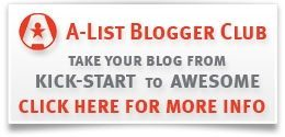 Sign up for A-List Blogging Bootcamp