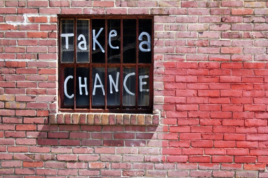 Take a Chance with Your Writing