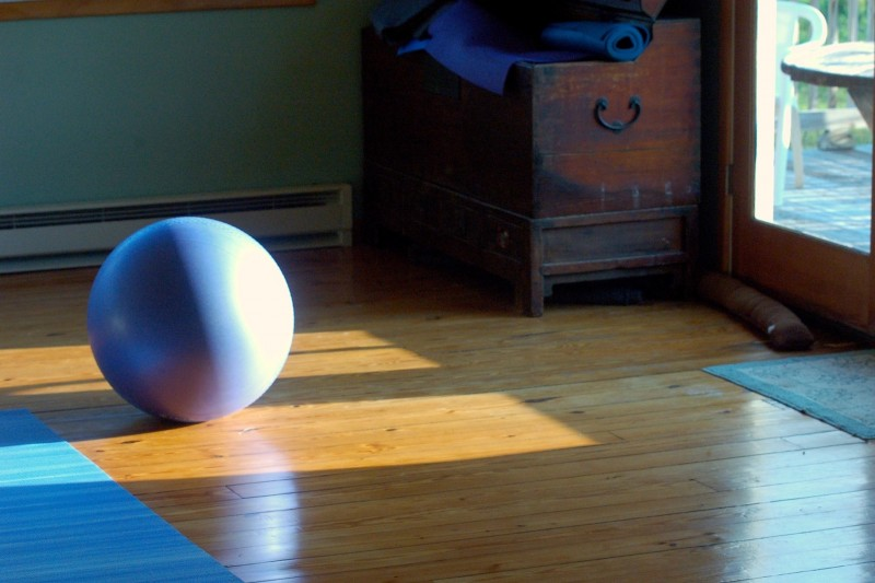What an Exercise Ball Can Teach You About Novel Writing